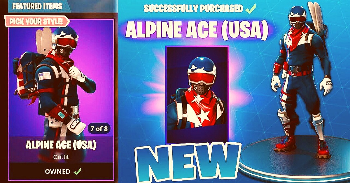 Fortnite Hero: Alpine Ace and Mogul Master Korean Olympics