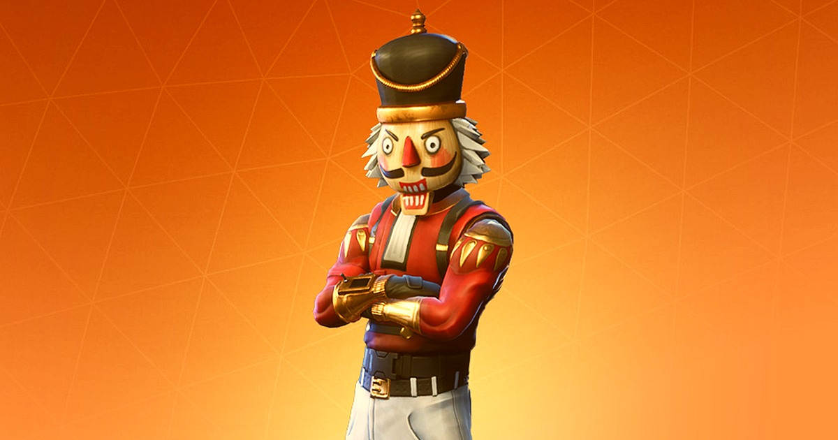 Fortnite Hero Crackshot The Nutcracker For Christmas Skin